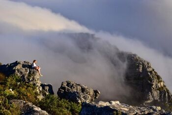 Hiking Table Mountain, Cape Town, Western Cape
