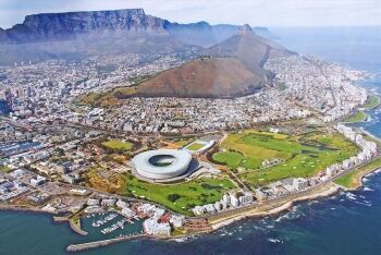 Signal Hill, Lion\'s Head, Table Mountain, Cape Town Stadium