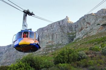 Table Mountain cable car, Cape Town, Western Cape