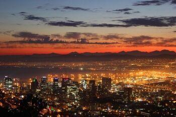 Cape Town CBD, Cape Town harbour, Western Cape